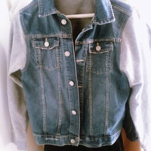 Vintage Mini Denim Jean Jacket